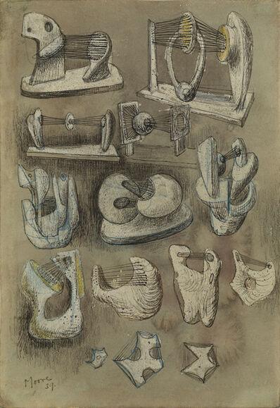 Henry Moore, 'Fourteen Ideas for Sculpture', 1939