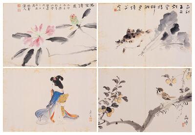 Kinoshita Seigai 木下靜涯, 'Booklet of Ink Paintings ( IV )'