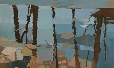 Ralph Wickiser, 'Black Reflection', 1997