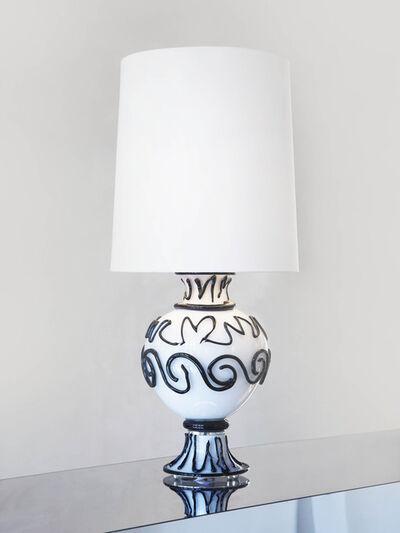 Mattia Bonetti, 'Table Lamp 'Greek (Black)'', 2020