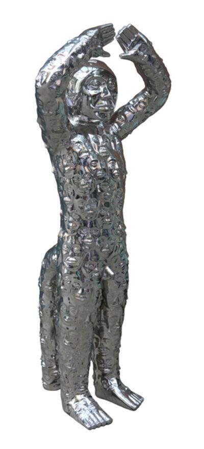 Liu Bolin, 'Face', 2014