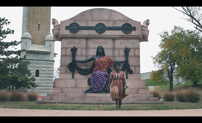 Yvonne Osei, 'Africa Clothe Me Bare, St. Louis I', 2016