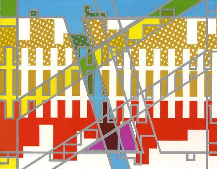 Bernard Cohen, 'Mirror x 6 (3)', 2008