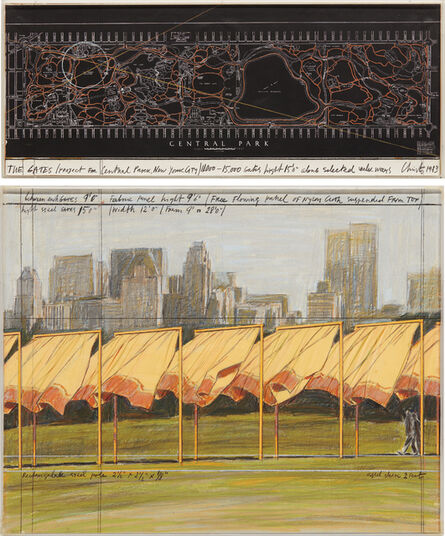 Christo, 'The Gates (Project for Central Park, New York City)', 1983