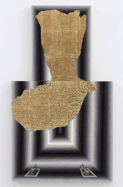 Andrew Schoultz, 'Broken Pattern (Exposed Wall)', 2014