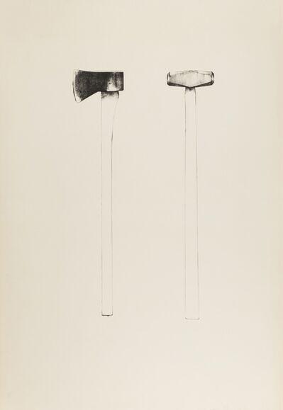 Jim Dine, 'Sledgehammer and Axe (Williams 46)', 1971