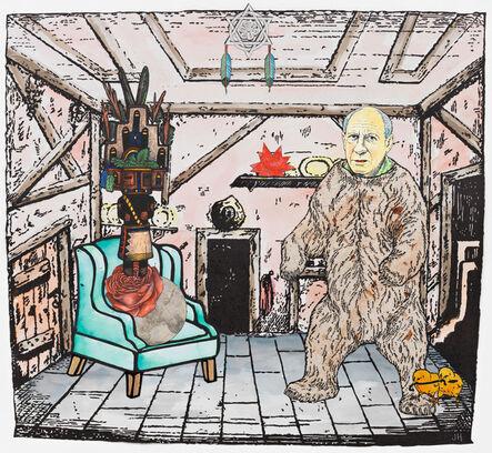 Jane Hammond, 'Two Feathers', 2013