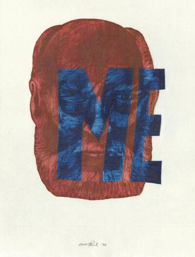Art Paul, 'Head Study 123', 1993