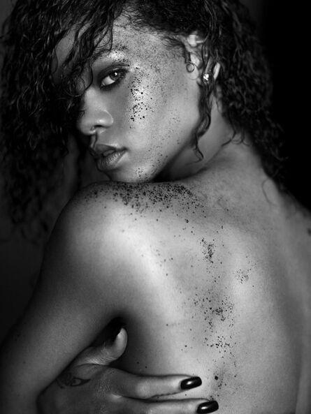 Russell James, 'Rihanna Black Sands Portrait', 2011
