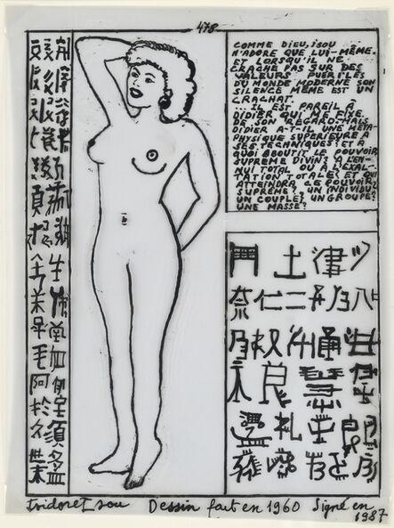 Isidore Isou, '478', 1960