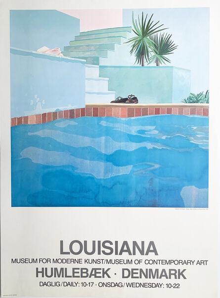 David Hockney, 'David Hockney Poster, Louisiana , Museum for Moderne Kunst/ Museum of Contemporary Art, Humlebaek, Denmark, Poster ', 1976