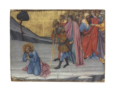 Taddeo di Bartolo, 'Saints Cosmas and Damian awaiting decapitation'