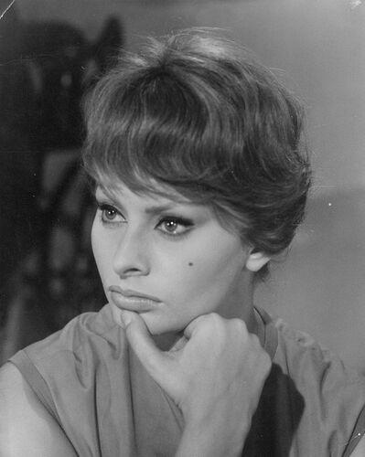 Pierluigi Praturlon, 'Sophia Loren portrait'