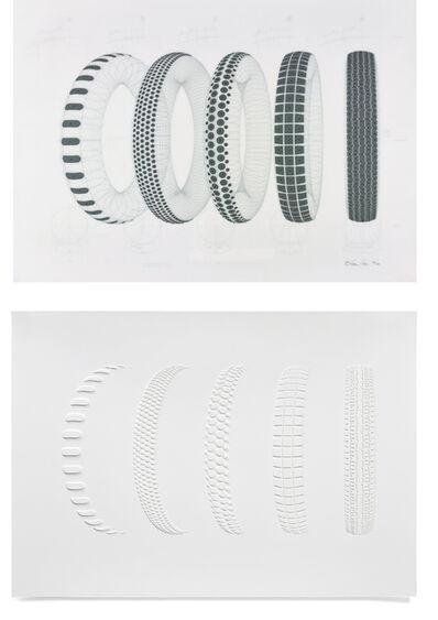 Richard Hamilton, 'Five Tyres Remoulded', 1971