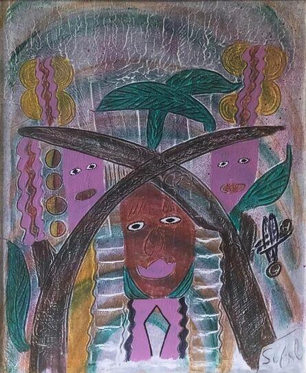 Edner Sufal, 'Spirits & Crosses', ca. 2000