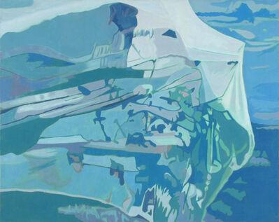 Ralph Wickiser, 'Blue Net', 1990
