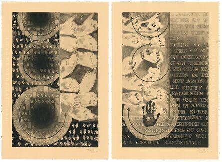 Jasper Johns, 'Fragment of A Letter', 2010