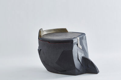 Andile Dyalvane, 'Soze Nyanga (Mud Table/Stool)', 2015
