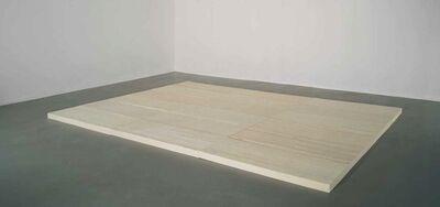 Rachel Whiteread, 'Untitled (Felt Floor)', 2003