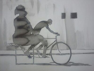 """Gemuce Hilario, '""""Roda quadrada""""', 2017"""