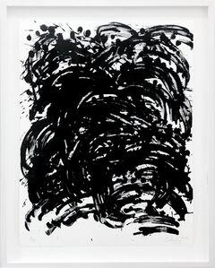 Günther Uecker, 'Alles Im Fluss', 2013