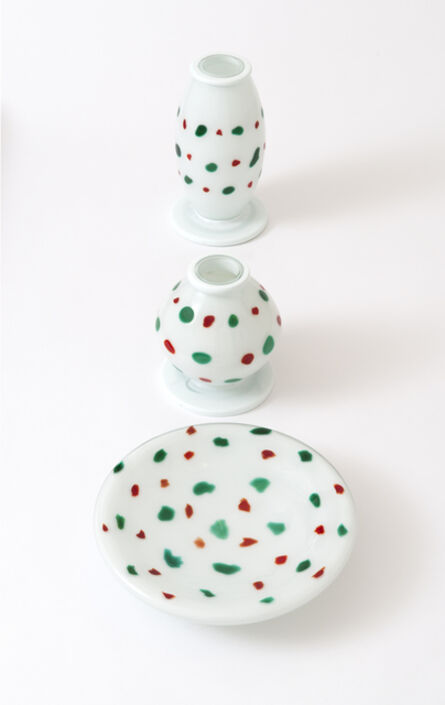 Ettore Sottsass, 'Orsete vases and dishes', 1972