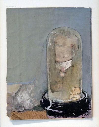 Joe Brainard, 'Untitled (Male Torso in Glass Cloche)', 1978