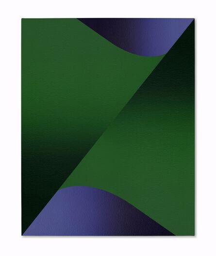 Senem Oezdogan, 'Blue with Green', 2020