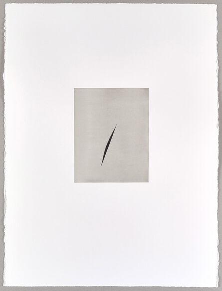 Alison Watt, 'Payne's Grey Split (III)', 2016