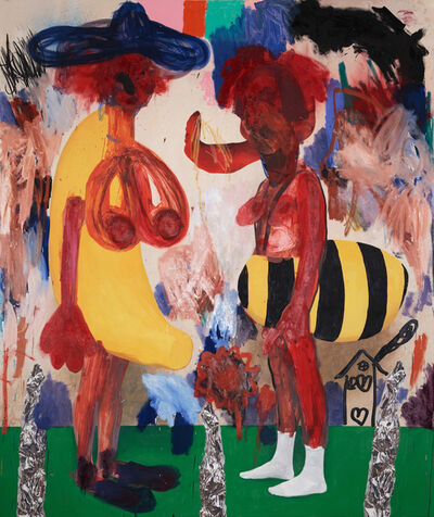 Jannis Varelas, 'Two Drunks', 2018