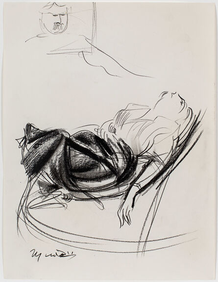 Giacomo Manzù, 'Figura Sdraiata', ca. 1970