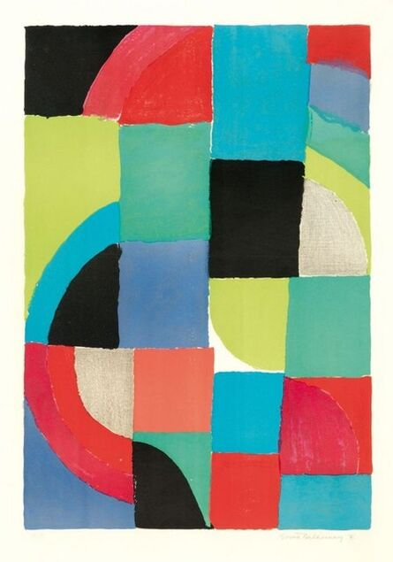 Sonia Delaunay, 'Printemps ', 1971