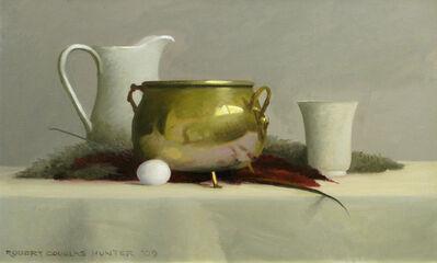 Robert Douglas Hunter, 'Polished Brass, White & Red #2', 2009