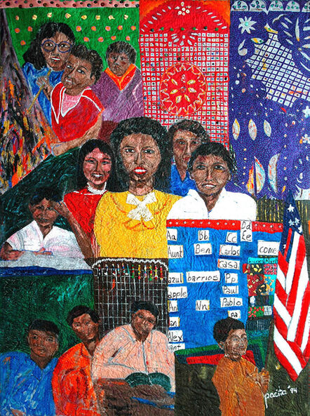Pacita Abad, 'New kids in class', 1994