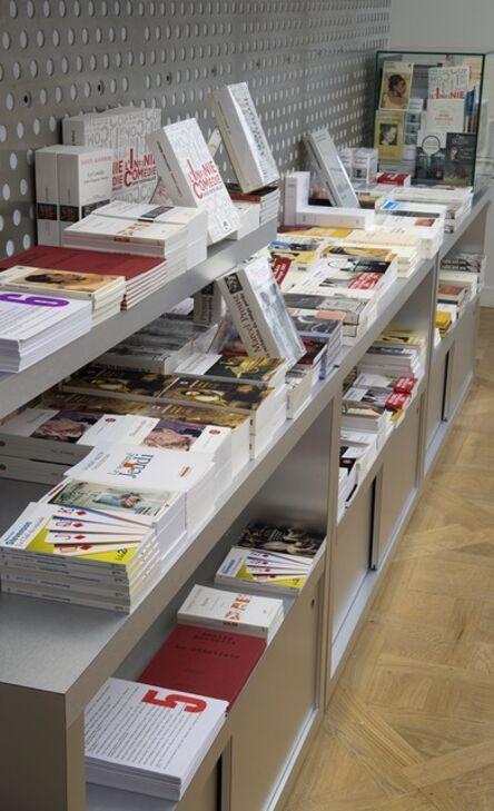 Maria Eichhorn, 'bibliography 1–2, 53 books and 3 journals for sale / Literaturverzeichnis 3–4, 46 Bücher und 1 Zeitschrift zum Kauf/Verkauf / bibliographie 5–6, 49 livres et 1 coffret DVD à acheter', 1994, 1995, 2015