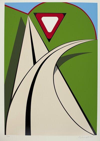 Allan D'Arcangelo, 'Curve', 1979