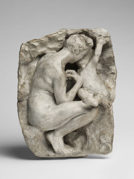 Auguste Rodin, 'Young Mother in the Grotto', 1885-1917