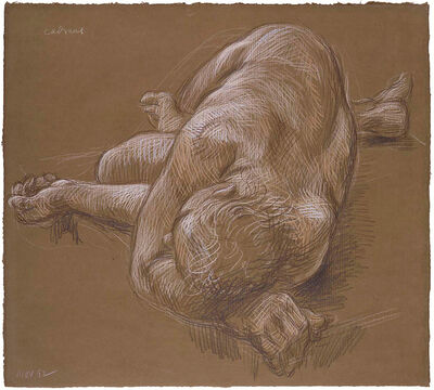 Paul Cadmus, 'Reclining Nude (Nov 1992)', 1992