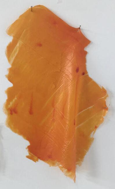 Lesley Bodzy, 'Orange Wall Drape', 2020