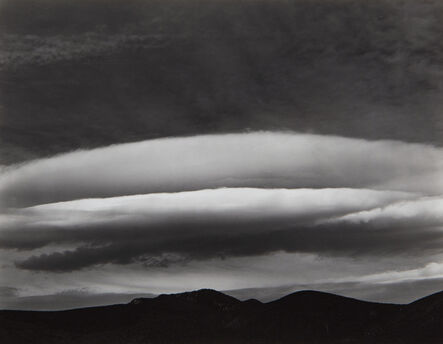 Edward Weston, 'Cloud, the Panamints, Death Valley', 1937-printed later by Cole Weston