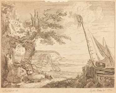 Lydia Bates, 'Coast Scene', 1784