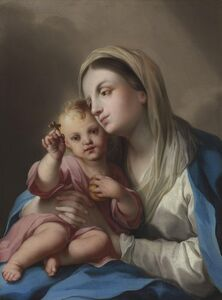 Ignaz Stern, called Stella, 'The Madonna and Child'