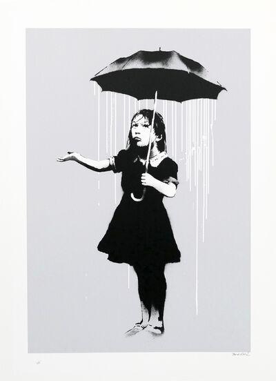 Banksy, 'Nola (White Rain) (Signed)', 2008