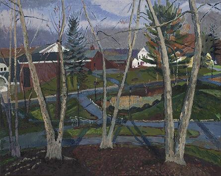 Grier Torrence, 'Garden Street Through Trees', 2015