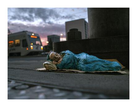 Isaac Cordal, 'American Dream. San Jose. CA EEUU'