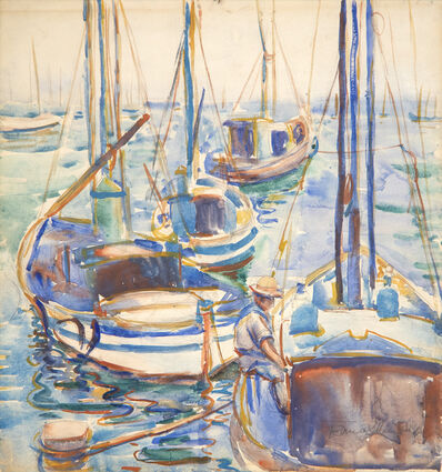Donna Schuster, 'Fishing Boats from Monterey', 20th century