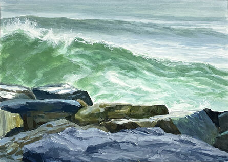 Pearl Rosen Golden, 'The Wave Rises', 2021