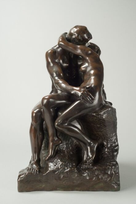 Auguste Rodin, 'Le Baiser (The Kiss), 3rd Reduction', First modelled in 1886. This reduction was conceived in 1901 and the present example was cast between 1910 and 1918 in an edition between 105 and 109.