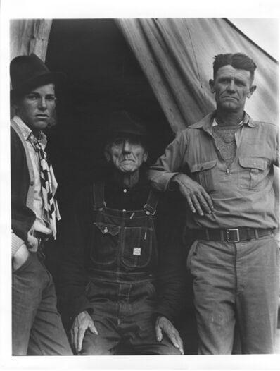 Dorothea Lange, 'Three Generations of Texans', 1935
