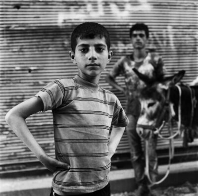 Katharine Cooper, 'Khalid and his Donkey in Old Aleppo, May 2017', 2017